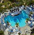 Loews Miami Beach Hotel aerial view of pool